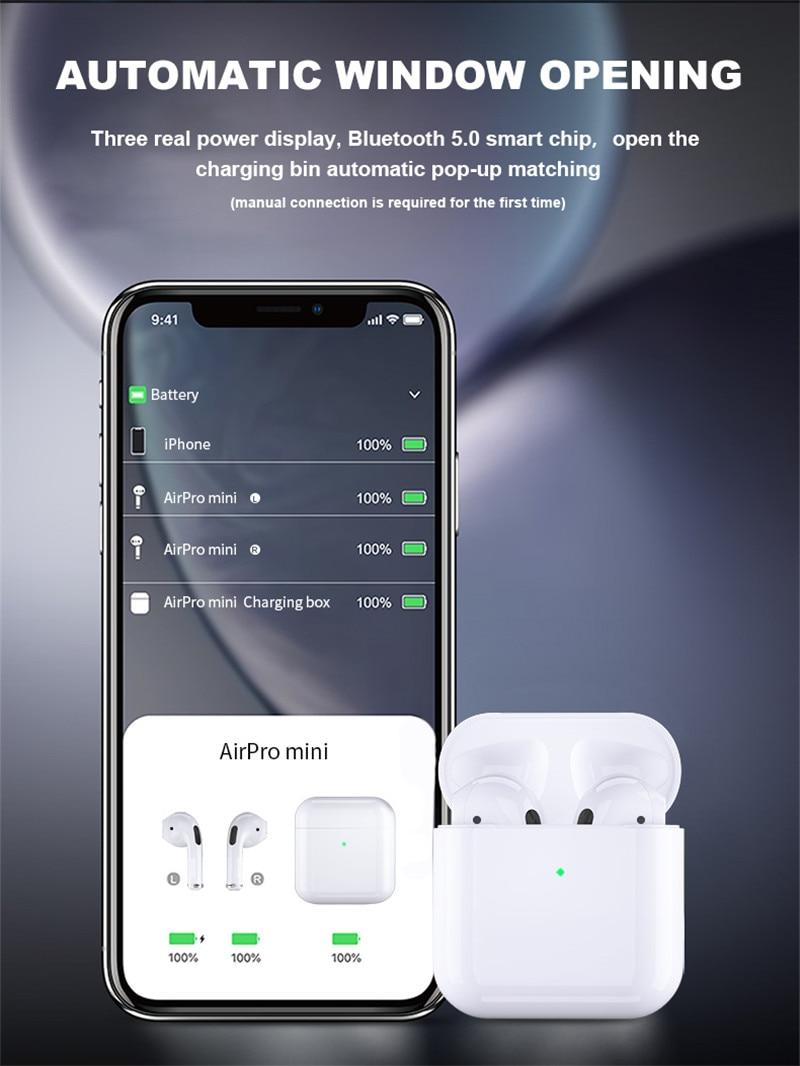 Air pro 4 tws Bluetooth earbuds wireless earphones Support wireless charging mini headset in ear headphone pk AIR 3 i9000 i90000