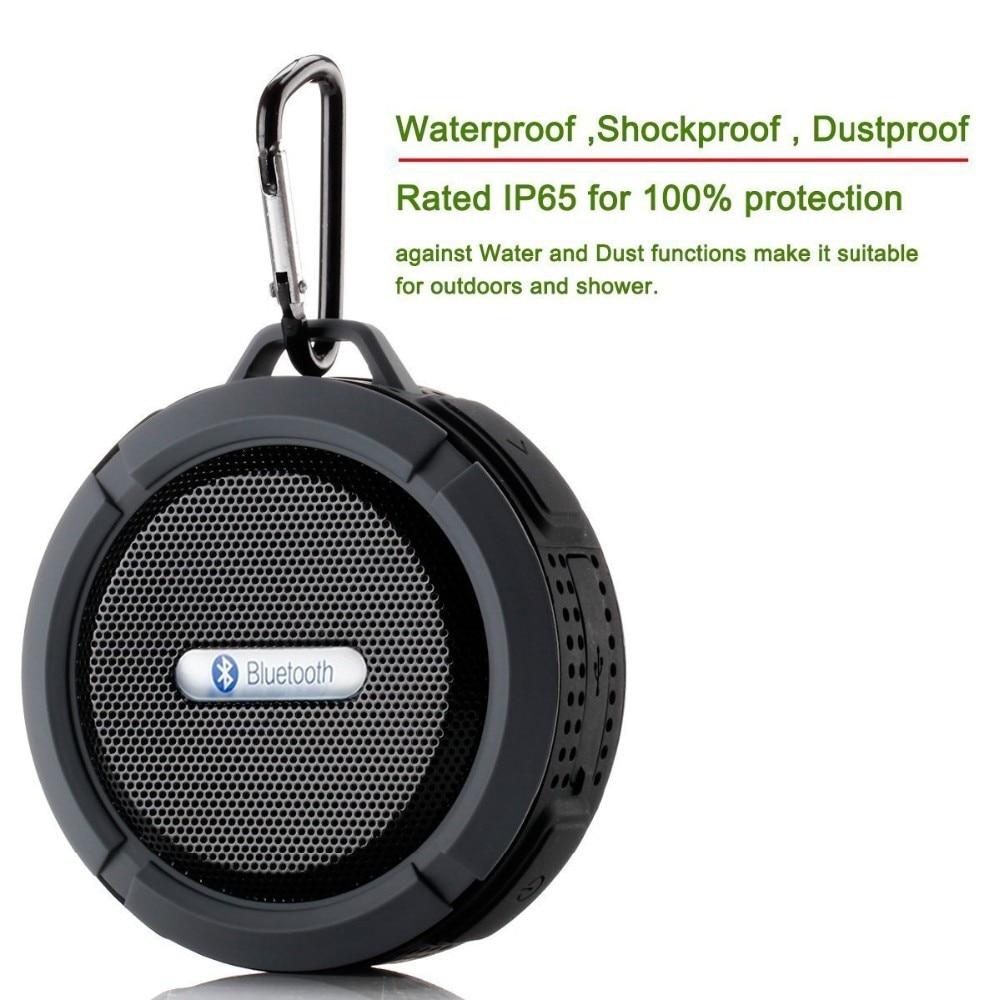 Wireless Bluetooth Super Bass Speaker Waterproof Portable Outdoor Mini Column Loudspeaker Sport Hifi Boombox Stereo Fm Subwoofer