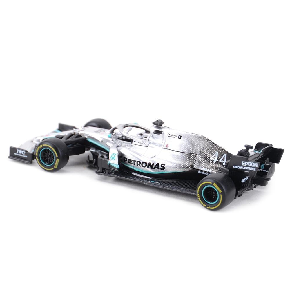 Bburago 1:43 2019 W10 #77 #44 W07 #6 #44 F1 Racing Formula Car Static Simulation Diecast Alloy Model Car